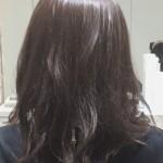 髪色を暗くする方必見☆透け感抜群ダークカラー