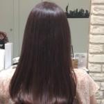 髪の黄色味改善♪プラチナヴァイオレット